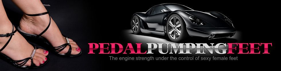 Sports Car | Pedal Pumping Feet